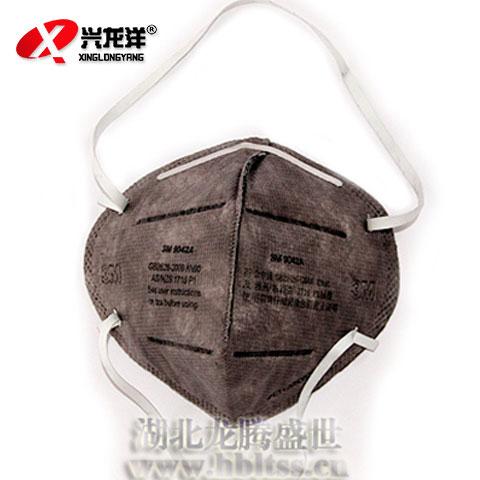 3M活性炭口罩防甲醛 防有机气体工业防毒口罩防粉尘9042-3m正品HX170