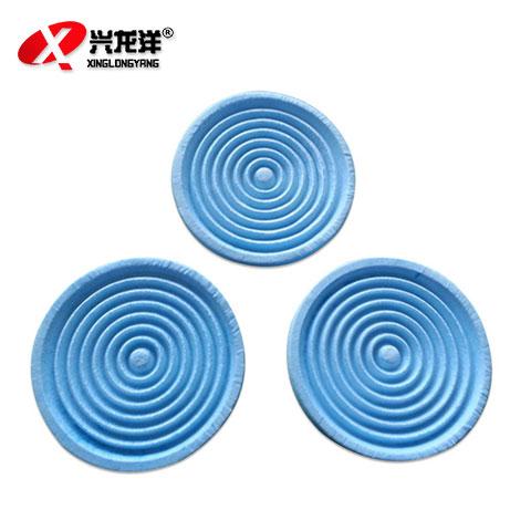 螺旋式防尘滤纸 过滤纸 防尘口罩配件 通用过滤棉滤布HX128