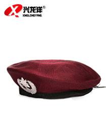 亚博体育ios版亚博体育app下载苹果网眼贝雷帽 夏季保安帽 帽子 礼仪帽 服饰配件BAM048