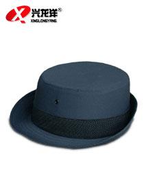 保安大檐帽 女式帽保安帽保安制服配饰 老式保安帽子 保安服配件BAM047