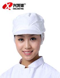 亚博体育ios版食品帽工作帽 车间防尘帽 男女工作防护帽 网帽GZM013