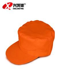 劳保清洁工人反光环卫帽物业保洁帽批发作业安全单双层冒子 HWM049