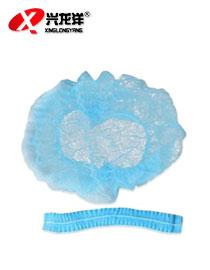 一次性网帽无纺布条形帽 防尘帽 无尘室头套防落发无尘网帽GZM016