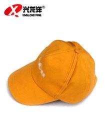 商场黄色鸭舌帽 可定制LOGO GZM036
