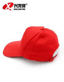 红色休闲鸭舌帽GZM026