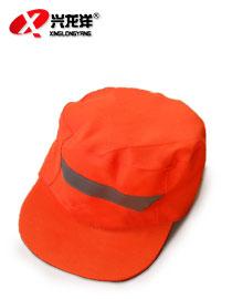 清洁工人反光环卫帽物业保洁帽环卫帽HWM052