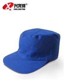 盛世劳保订做环卫帽蓝色环卫道路工作帽GZM023