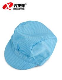 防静电无尘帽 防尘工作帽 小工帽 男工帽 洁净帽FJD841