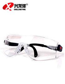 3M 防护眼镜护目镜 男女式骑行防风防沙防尘 劳保防冲击防雾MB089