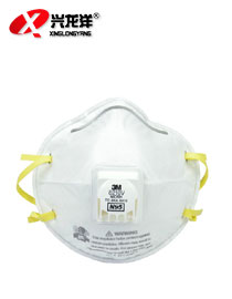 【3M】8210V 防尘口罩 N95口罩 防雾霾 颗粒物HX139