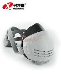 思创ST-AX橡胶<font color='red'>防尘口罩</font>电焊 粉尘喷漆面具 过滤式防尘半面具HX137