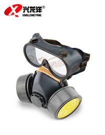 防护面具化工喷漆甲醛火灾防烟HX132