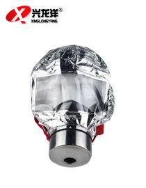消防面具防毒防烟面具火灾逃生防火面罩酒店家用过滤式自救呼吸器防毒面具HX126