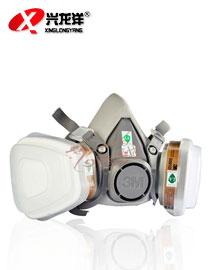 3M 6200 6001 防毒面具防尘面具防护喷漆面罩防毒口罩-3m正品HX177