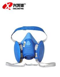 百安达防N100尘口罩面罩面具劳保工业煤矿业打磨粉尘雾霾硅胶HX160