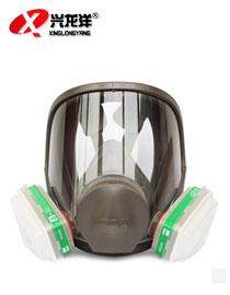 3M 6800+6004全面型防护面罩 防毒面具防氨气/甲胺HX149