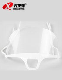 厂家供应E605透明PS塑料食品卫生口屏 防雾餐厅口屏JD888