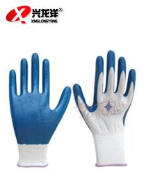 N529 十三针白尼龙丁腈手套ST207