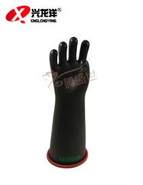 双安牌10KV绝缘手套带电作业用乳胶电工防电高压10千伏绝缘手套ST218