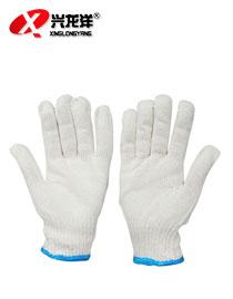 涤棉细纱手套 作业劳保手套 高品质涤棉棉线工地耐磨防护手套ST182