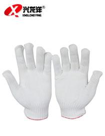 棉纱手套耐磨劳保线手套工业工作耐用<font color='red'>防护手套</font>ST180