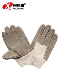 牛仔革手套 电焊手套 海员手套 全皮手套ST291
