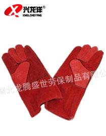 LTSS双层电焊手套 保暖手套 耐温手套 <font color='red'>劳保手套</font>ST261