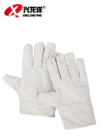 24排加密线帆布双层手套ST228