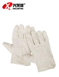 时尚帆布手套加厚手套工地作业手套ST189