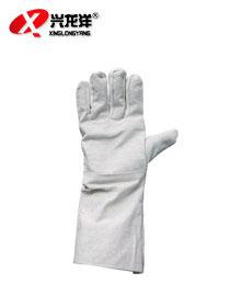 定做优质加长型帆布手套 耐磨 劳保手套ST197