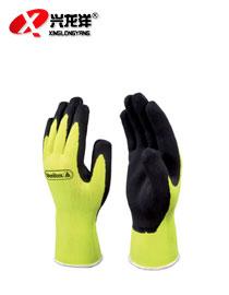 代尔塔201733 防护手套 乳胶涂层无缝针织手套ST277