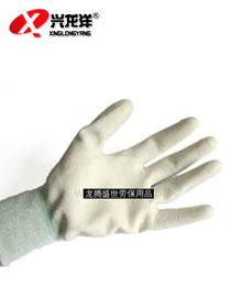 防静电碳纤维手套(涂掌)FJD859