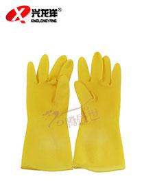 橡胶耐酸碱手套乳胶手套ST231