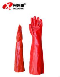 代尔塔 PVC工业胶 浸塑 防耐酸碱手套ST284