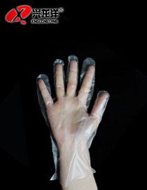一次性PE手套烧烤必备家用卫生 薄膜透明便捷JD889