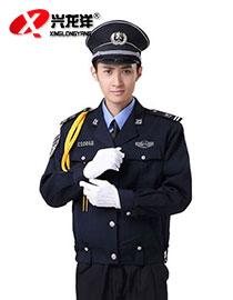 新式夹克式 保安服夹克春秋套装 男 物业保安服套装制服 保安服套装GZF451