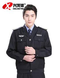 保安服春秋套装保安服工作服全套酒店物业保安长袖工作服防寒GZF355