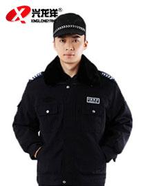 保安制服冬装 保安大衣加厚保安服冬装冬工作服防寒服GZF445
