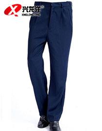 批发保安裤子 保安制服西装裤子 可调节腰围工作长裤GZF344
