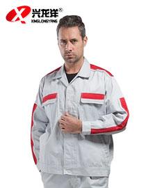 防静电工作服套装长袖加油站工程服劳保服定做GZF425