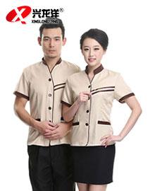 服务员保洁服夏季短袖 酒店宾馆保洁服 清洁客房保洁员制服女GZF437