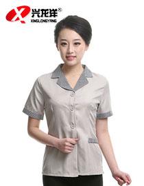 保洁服装 保洁服夏装 酒店工作服夏 清洁工制服 短袖保洁员短袖GZF436