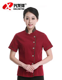 保洁工作服 保洁服 酒店宾馆保洁员工作服 保洁服装短袖 保洁服女GZF435