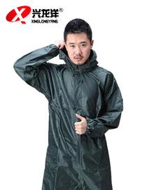 防尘防水防护服 防水连体雨衣工作服洗车服带帽连体服GZF402