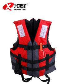 可折叠儿童成人游泳救生衣男女浮力背心漂流浮潜服GZF405