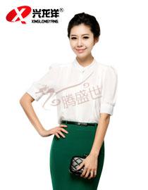 定制职业装女装套装套裙气质正装短袖GZF510