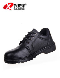 2016厂家现货批发压花牛皮劳保防砸防刺耐油耐酸碱耐磨安全工作鞋FHX665