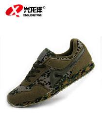 迷彩鞋-3544林地迷彩山地鞋FHX758