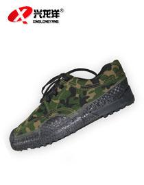 正品丛林迷彩作训鞋户外帆布登山防滑男鞋作训鞋解放鞋FHX716