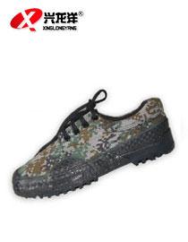正品作训鞋林地数码帆布透气橡胶作训练鞋 山地越野迷彩鞋FHX717